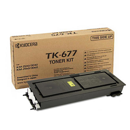 Kyocera-Mita TK677 originale Black Toner Cartridge