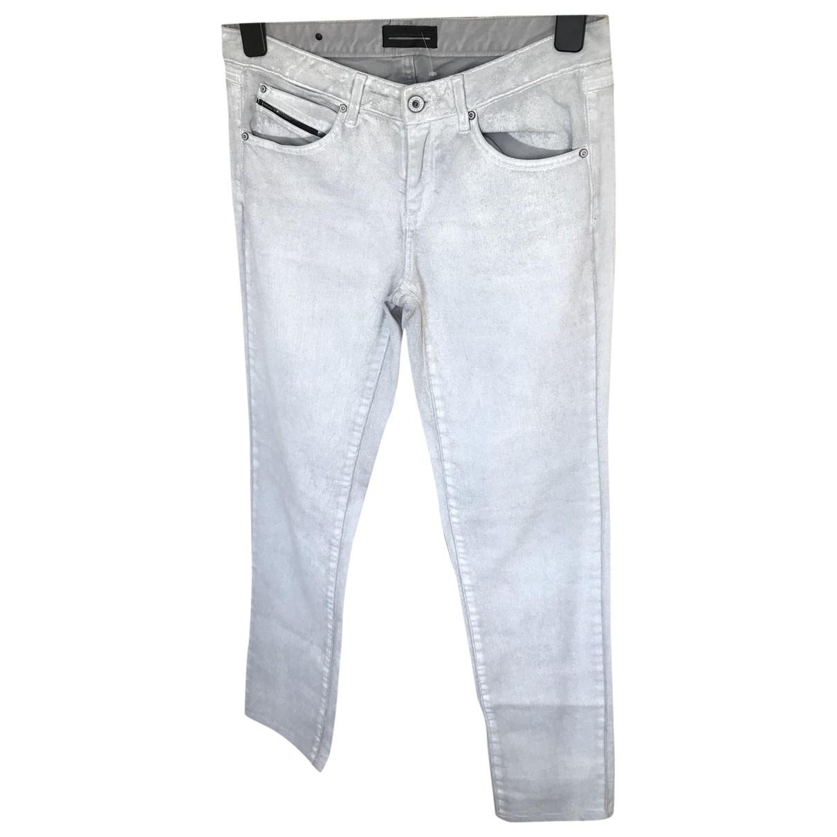 Diesel Black Gold \N Silver Cotton - elasthane Jeans for Women 29 US