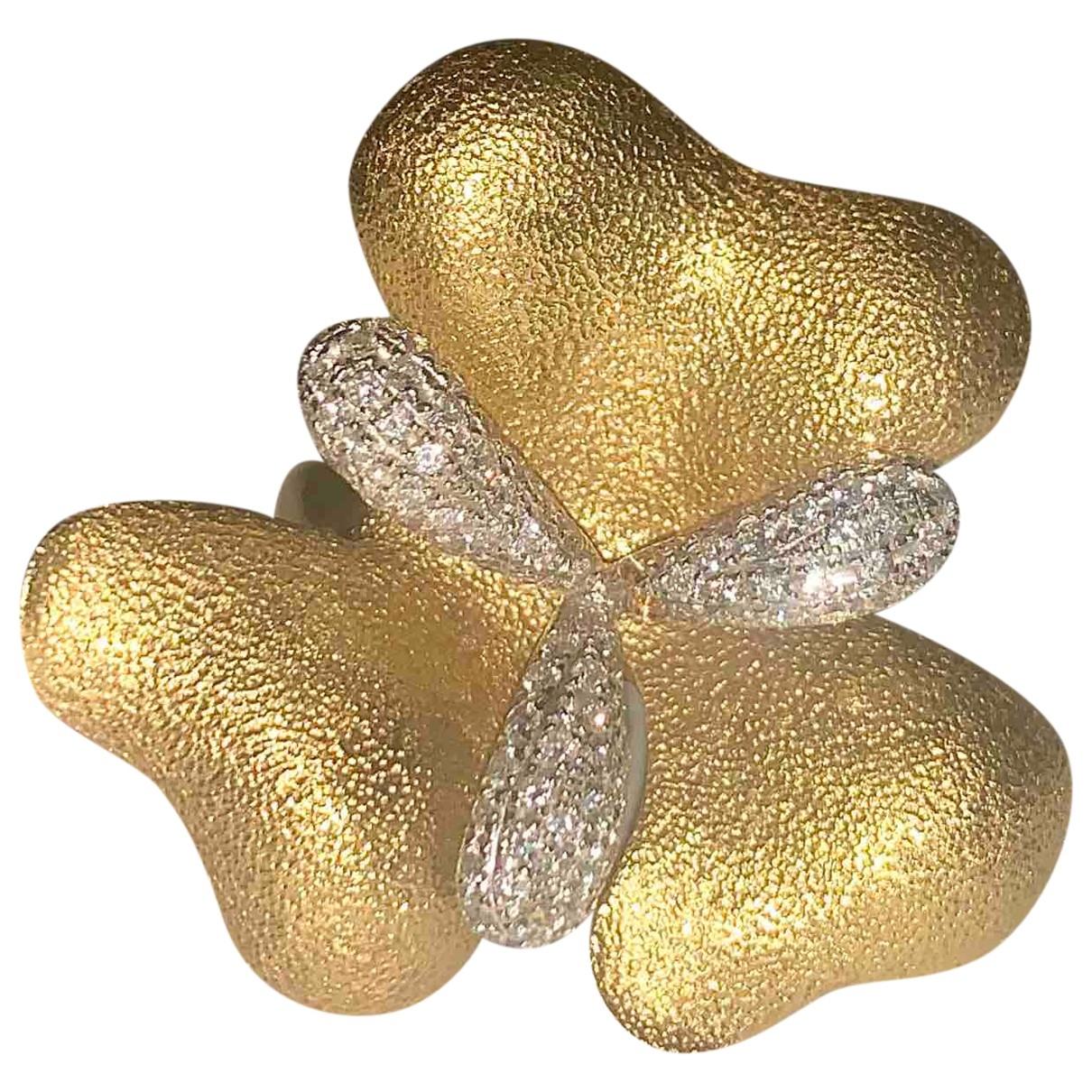 Eduard Kogen - Bague   pour femme en or jaune - dore