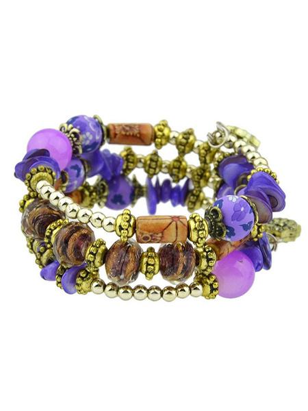 Milanoo Boho Beaded Bracelet Valentine Gift Women Jewelry