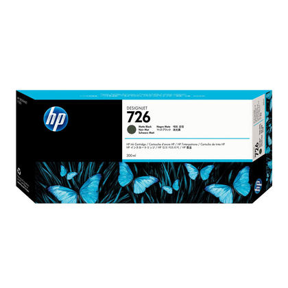 HP 726 CH575A Original Matte Black Ink Cartridge