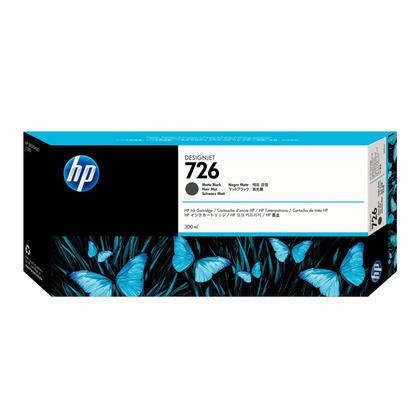 HP 726 CH575A cartouche d'encre originale noire mat
