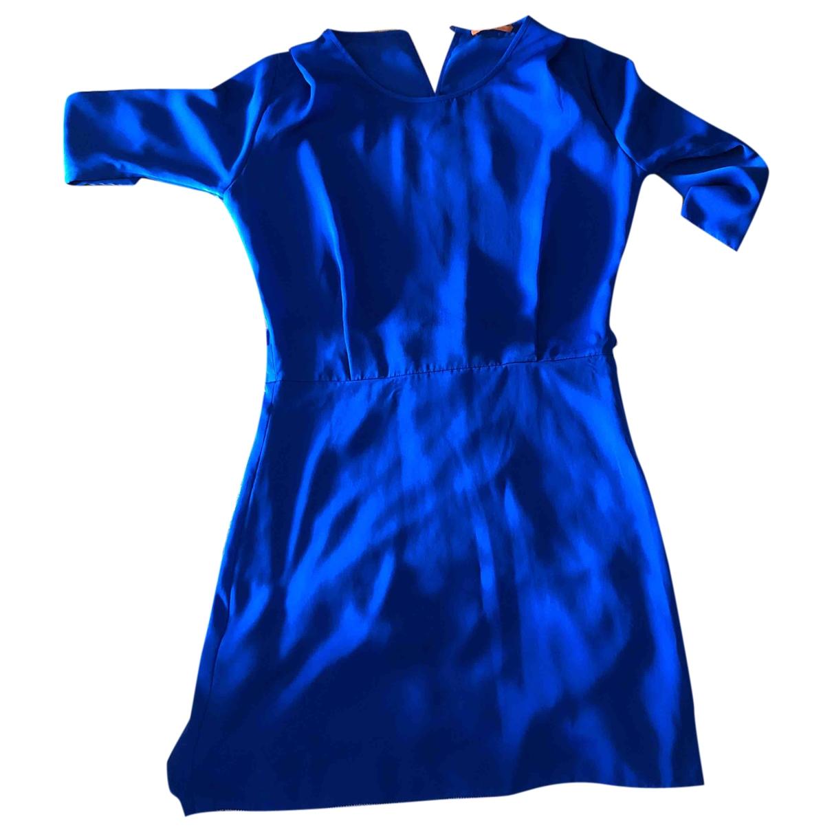 Boss - Robe   pour femme - bleu