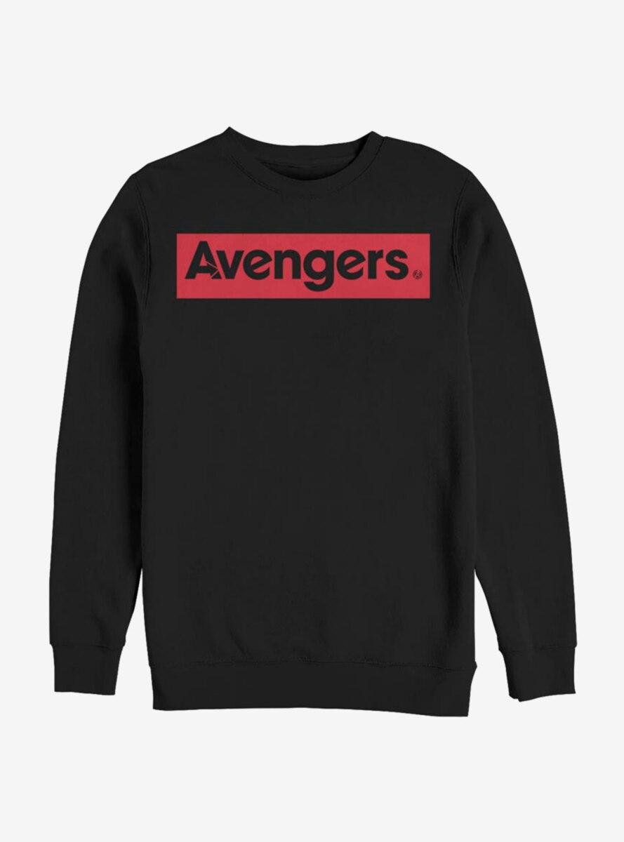 Marvel Avengers Red Logo Avengers Sweatshirt