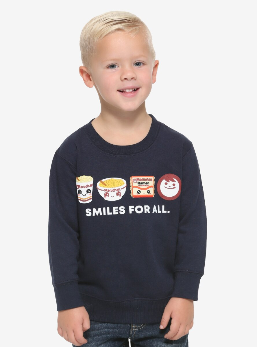 Maruchan Smiles For All Toddler Crewneck - BoxLunch Exclusive