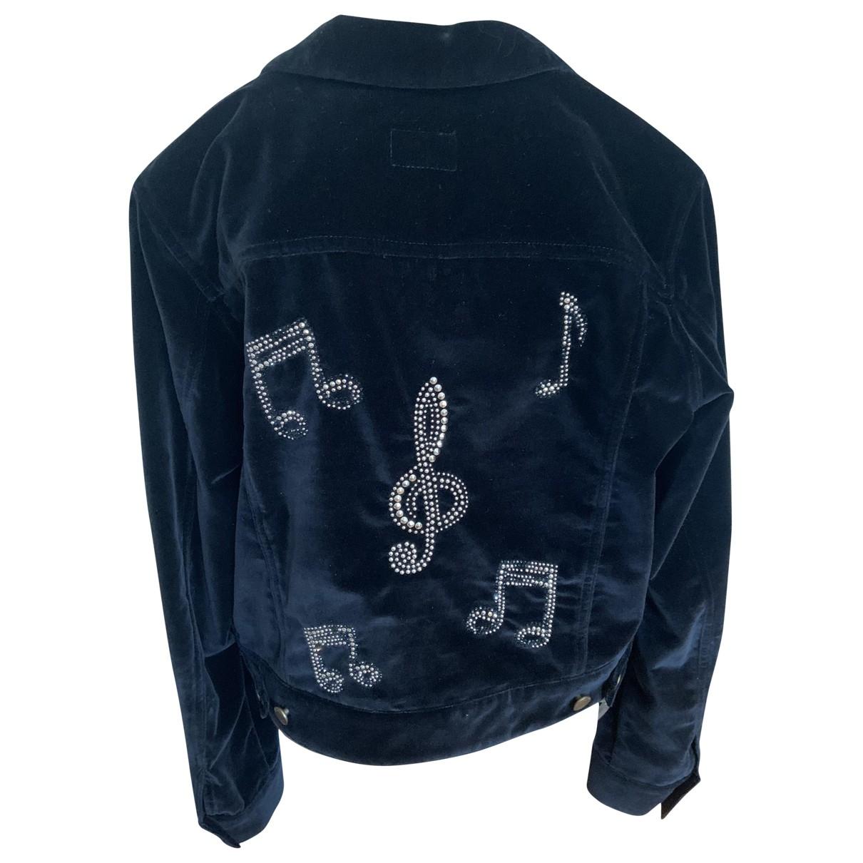 Saint Laurent \N Black Cotton jacket for Women 38 FR
