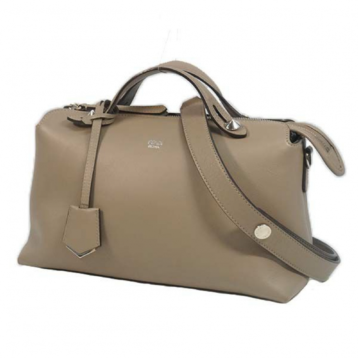 Fendi N Grey Leather handbag for Women N