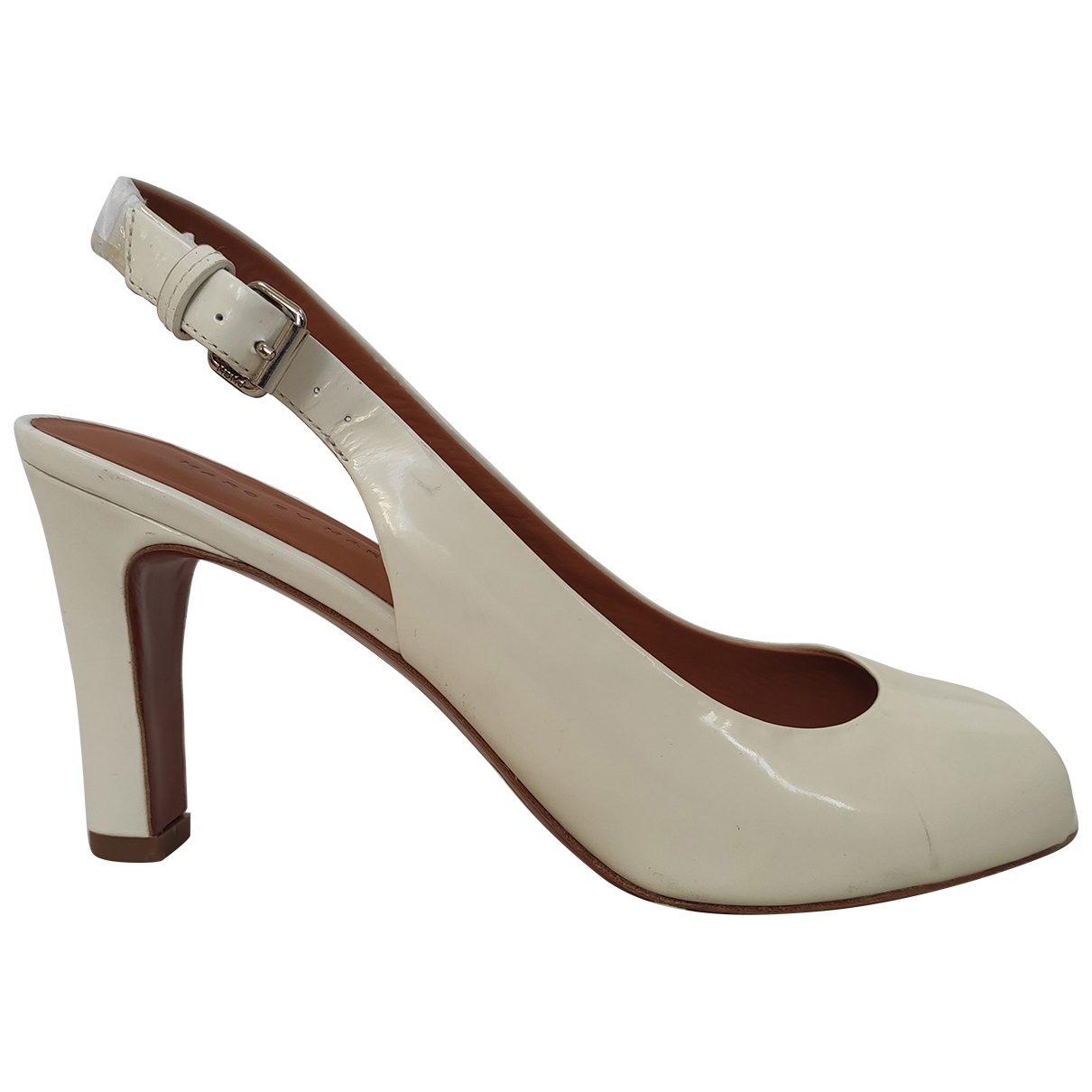 Marc By Marc Jacobs \N Pumps in  Weiss Lackleder