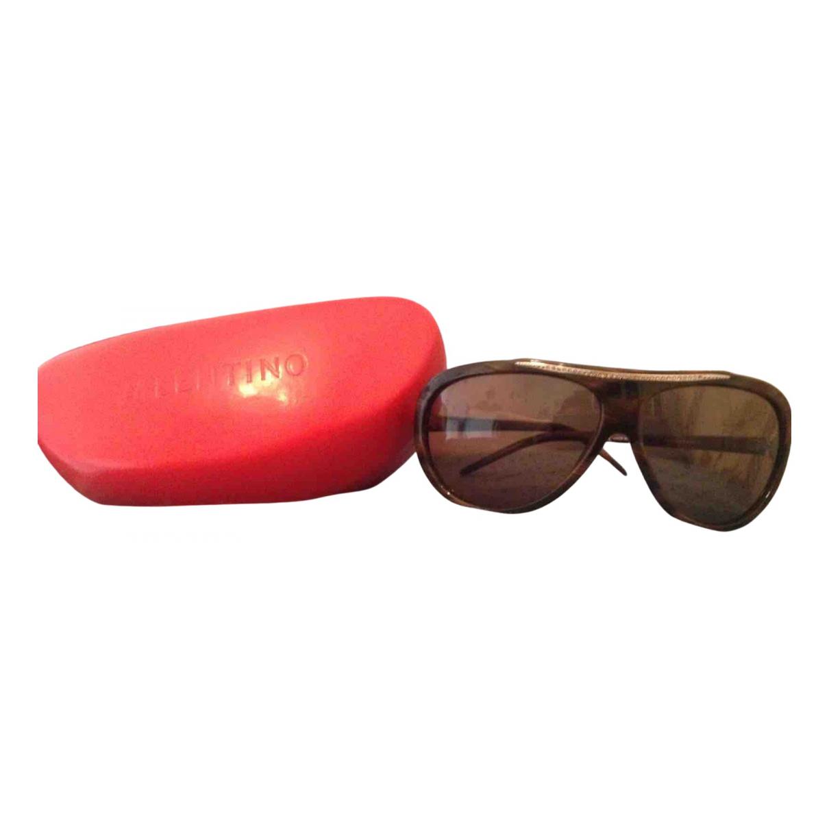 Valentino Garavani N Brown Sunglasses for Women N