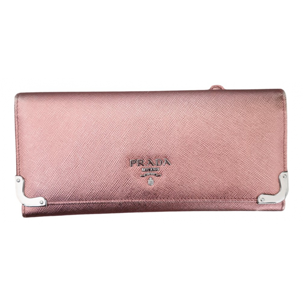 Prada N Metallic Leather wallet for Women N