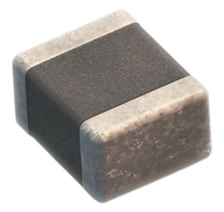Wurth Elektronik 0402 (1005M) 100pF Multilayer Ceramic Capacitor MLCC 25V dc ±10% SMD 885012205038 (200)