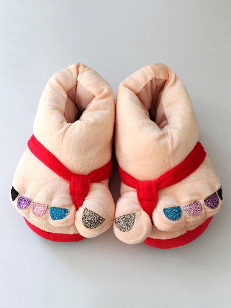 Milanoo Disfraz Halloween Kigurumi pijamas Navidad zapatillas Multicolor calzado accesorios de vestuario Halloween