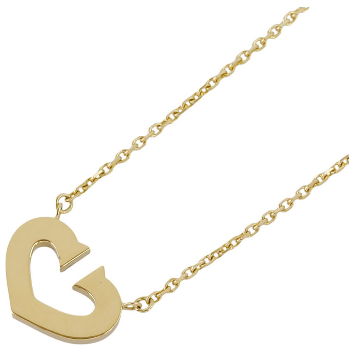 Cartier - Collier   pour femme en or jaune - dore