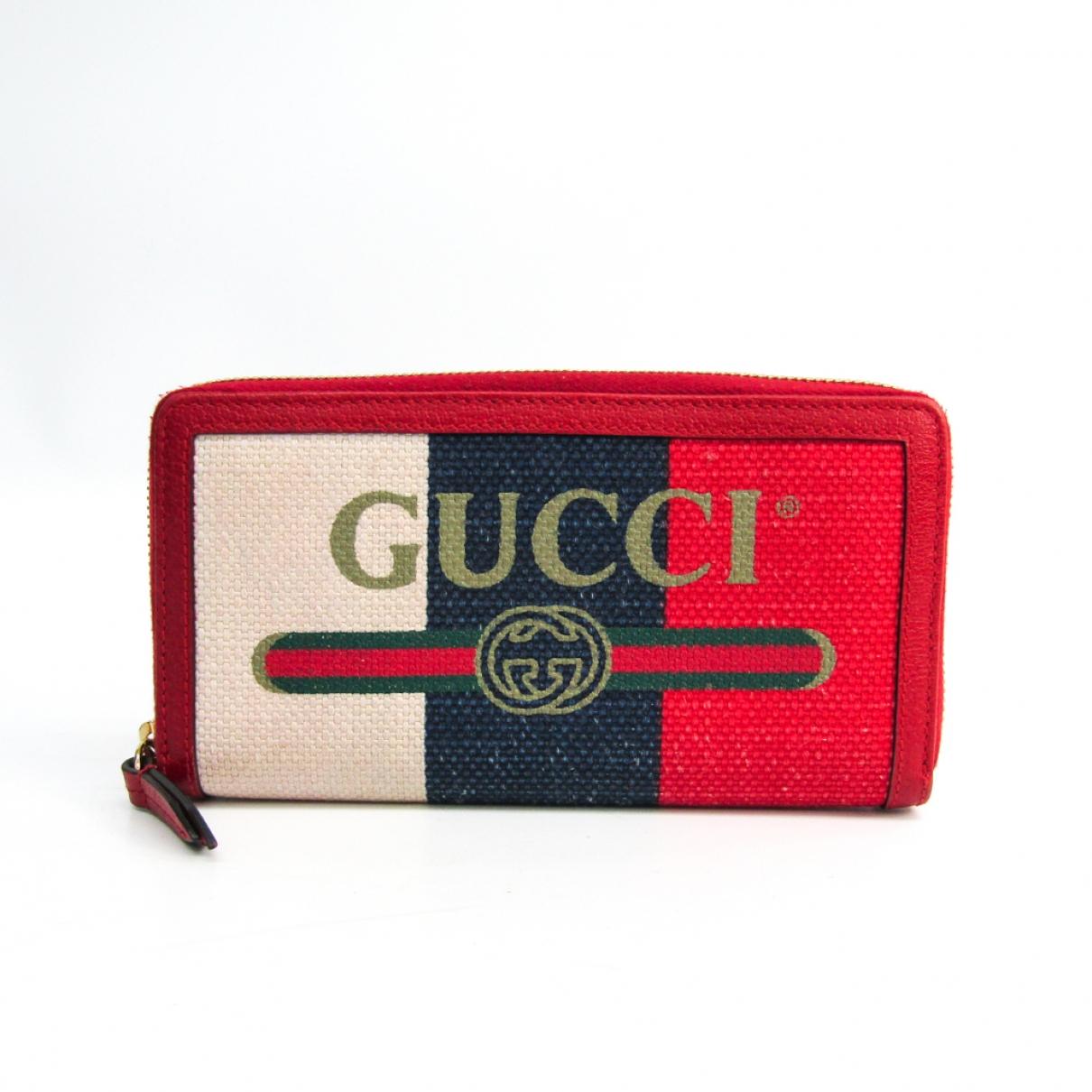 Gucci \N Ecru Cloth wallet for Women \N