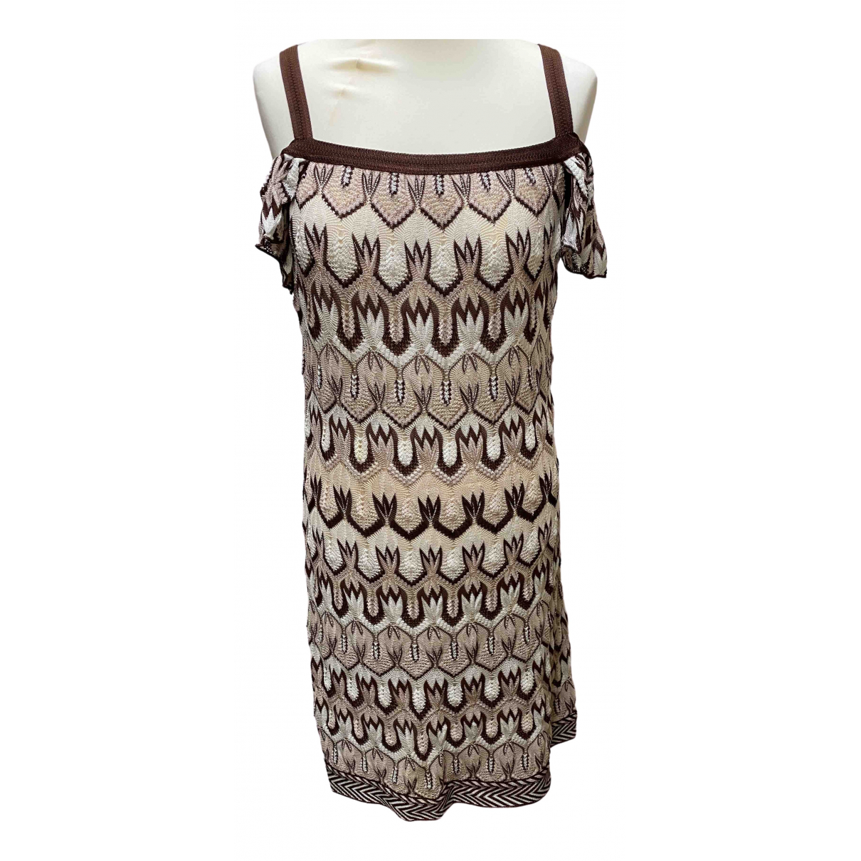 Missoni \N Brown dress for Women 12 UK