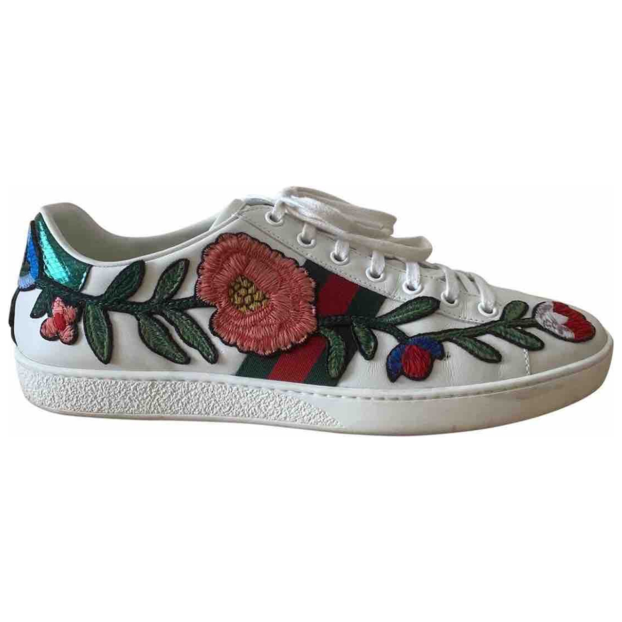 Gucci Ace White Leather Trainers for Women 36 EU