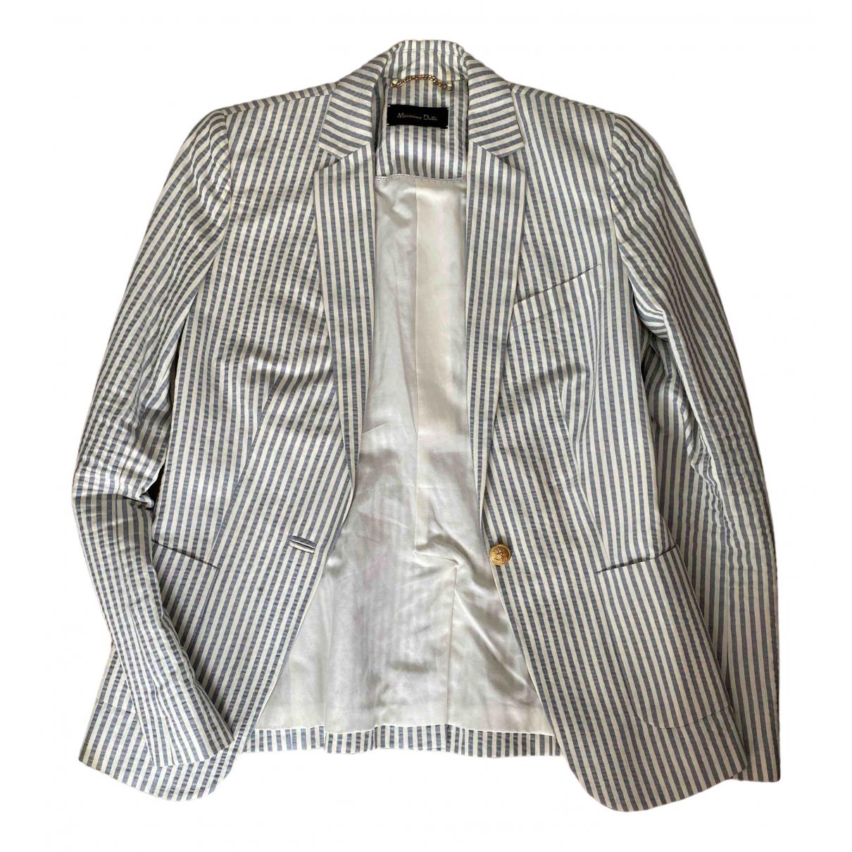 Massimo Dutti \N Blue jacket for Women 36 FR