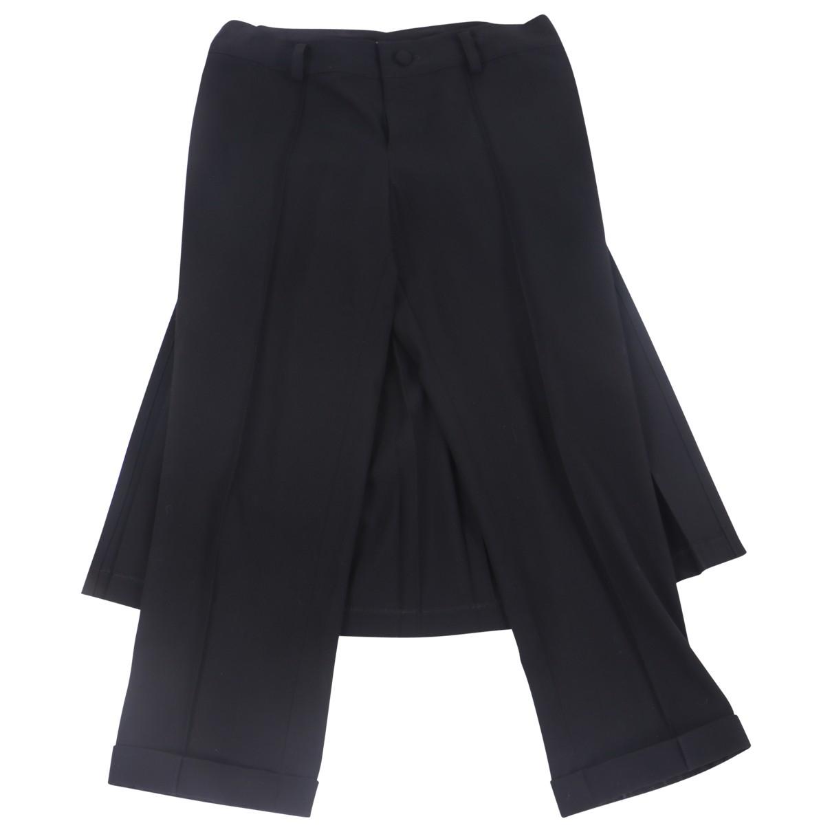 Limi Feu N Black Wool Trousers for Women M International