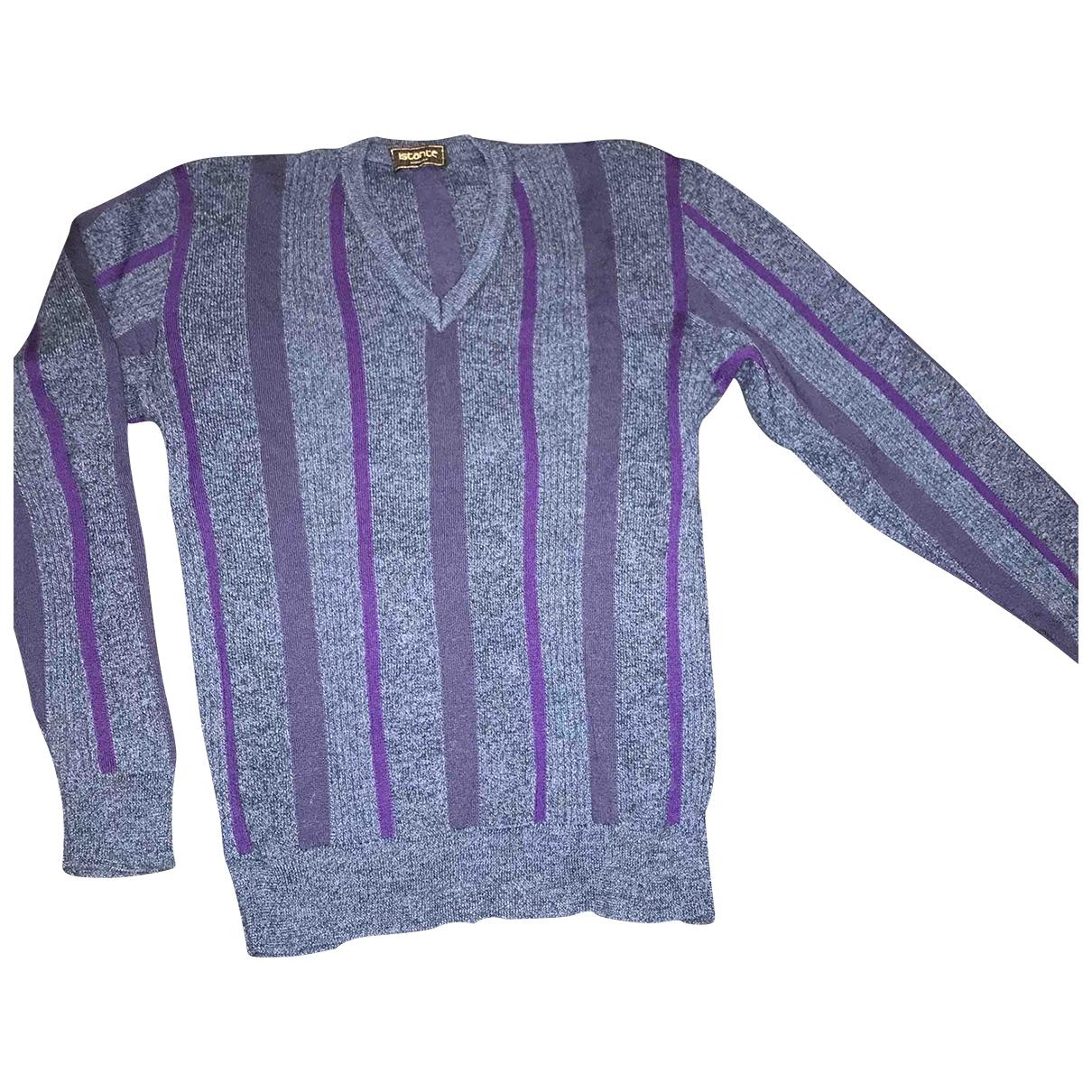 Istante \N Pullover.Westen.Sweatshirts  in  Blau Wolle