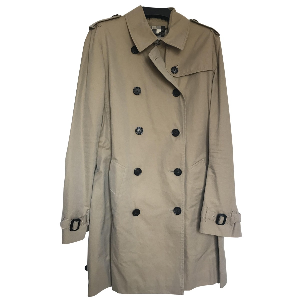 Burberry \N Trench in  Kamel Baumwolle
