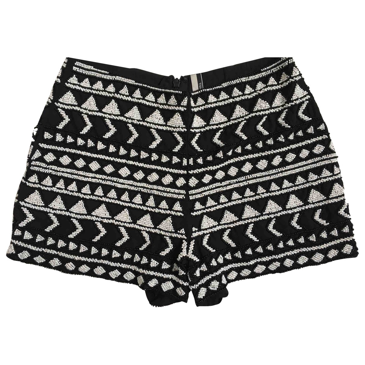 Tophop Boutique \N Shorts in  Schwarz Polyester