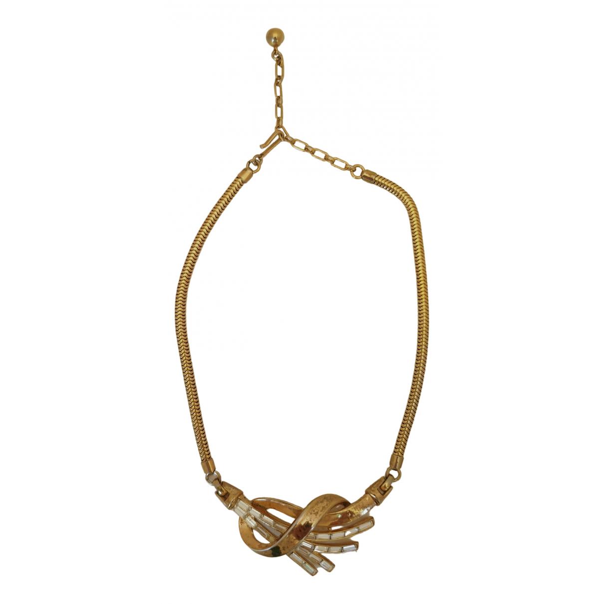 Trifari \N Gold Metal necklace for Women \N