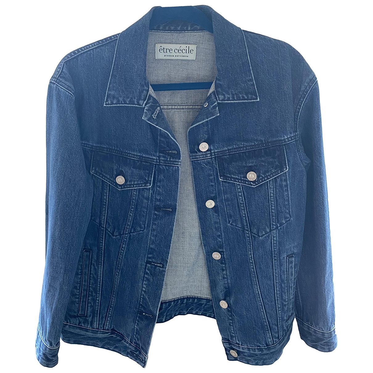 Etre Cecile \N Blue Denim - Jeans jacket for Women S International