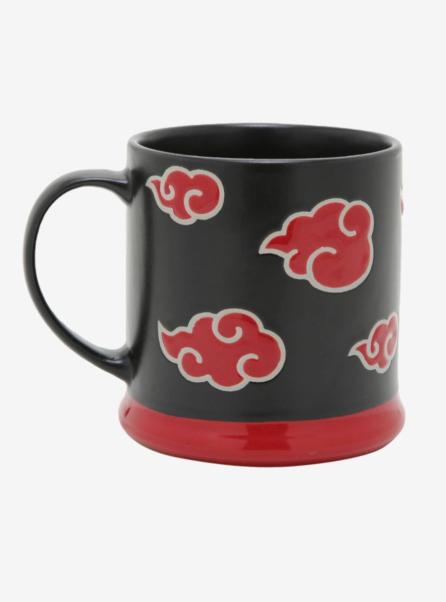 Naruto Akatsuki Clouds Wax Mug