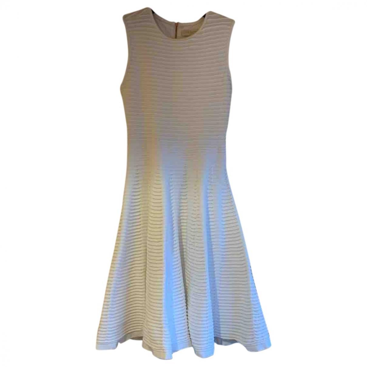 Ted Baker \N Kleid in  Weiss Baumwolle