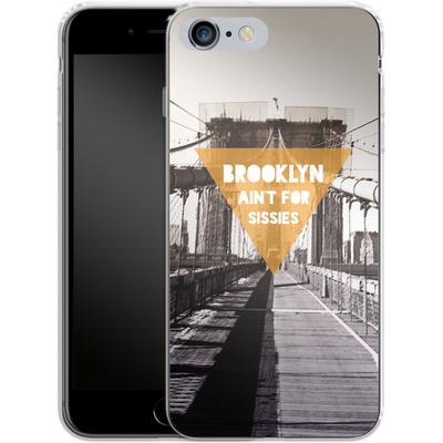 Apple iPhone 6 Plus Silikon Handyhuelle - BKLYN Aint For Sissies von Statements
