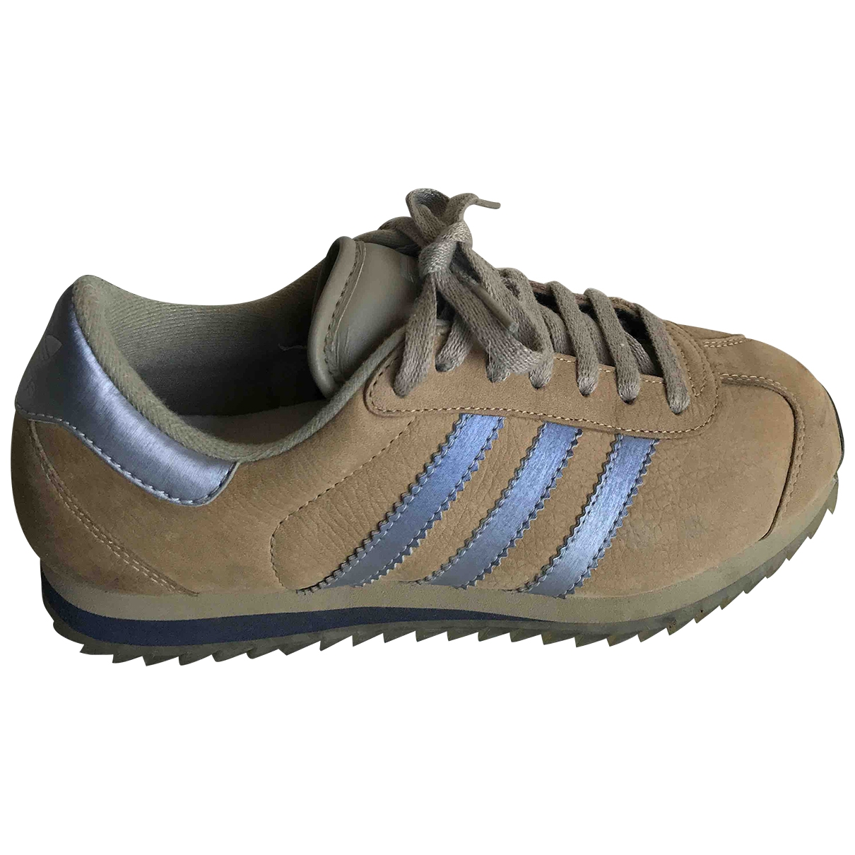 Adidas \N Camel Suede Trainers for Women 5 UK