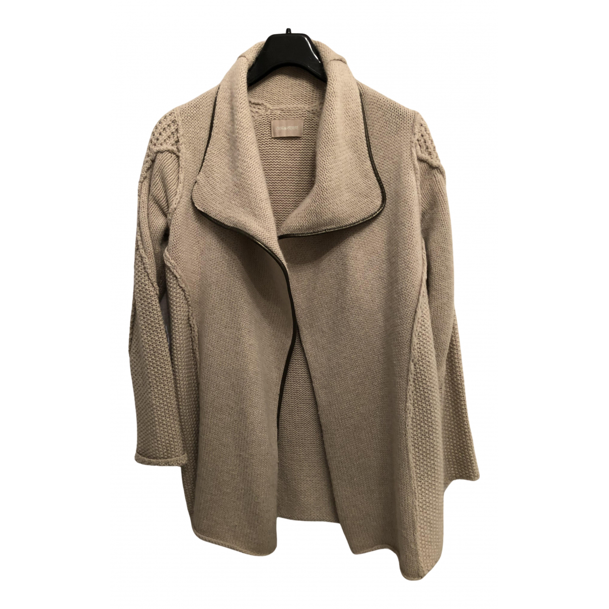 Zadig & Voltaire - Pull Fall Winter 2019 pour femme en laine - beige