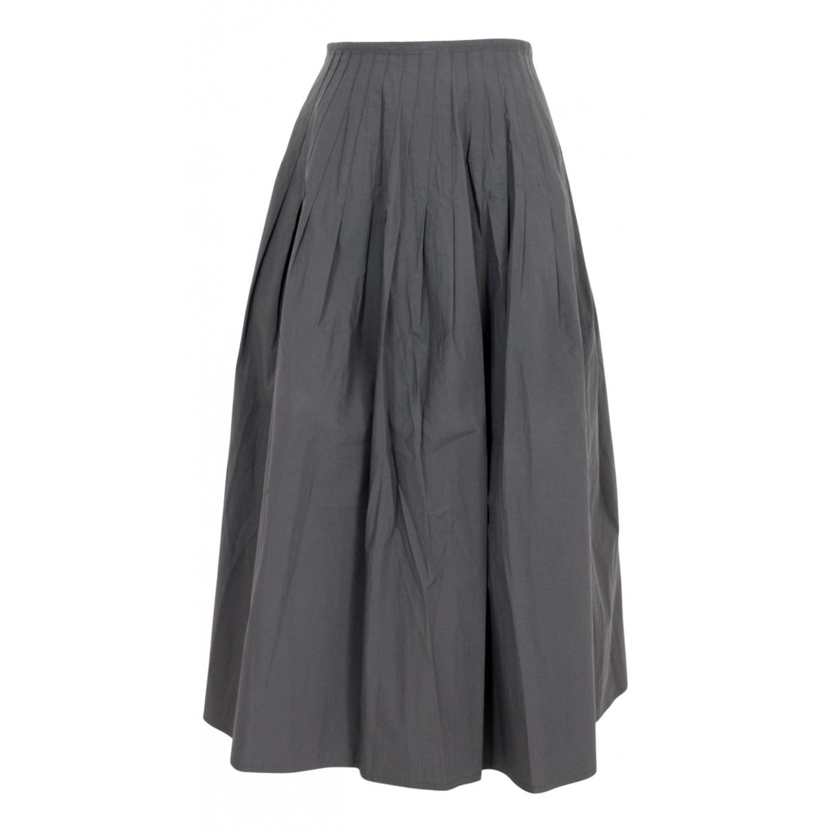 Sofie Dhoore - Jupe   pour femme en coton - gris