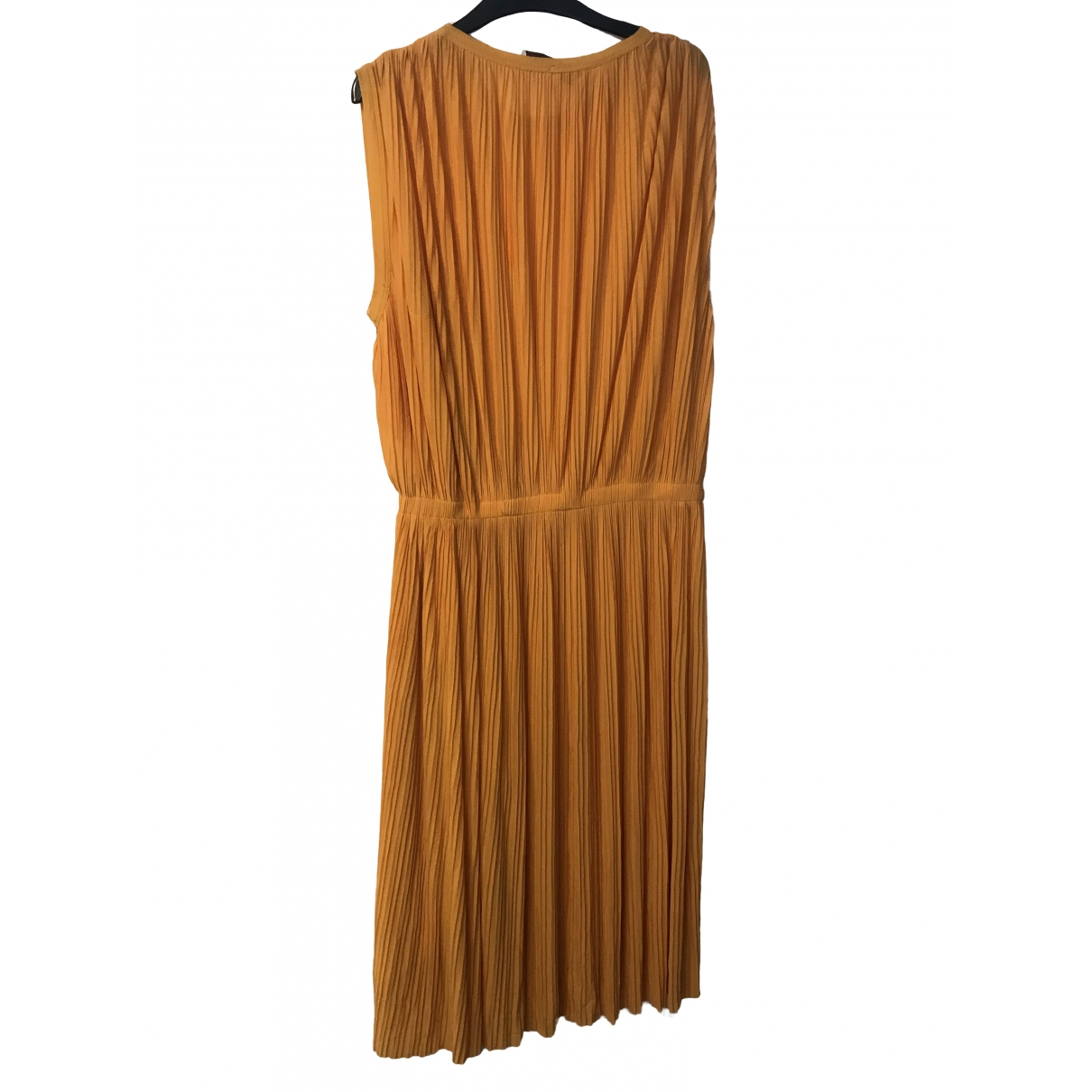 Stella Mccartney \N Kleid in  Gelb Polyester