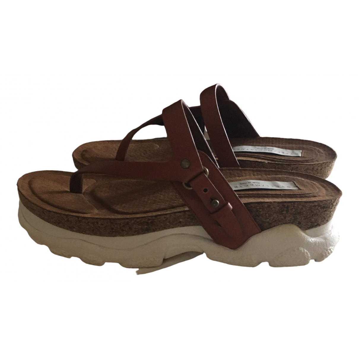 Stella Mccartney \N Brown Sandals for Women 36 EU