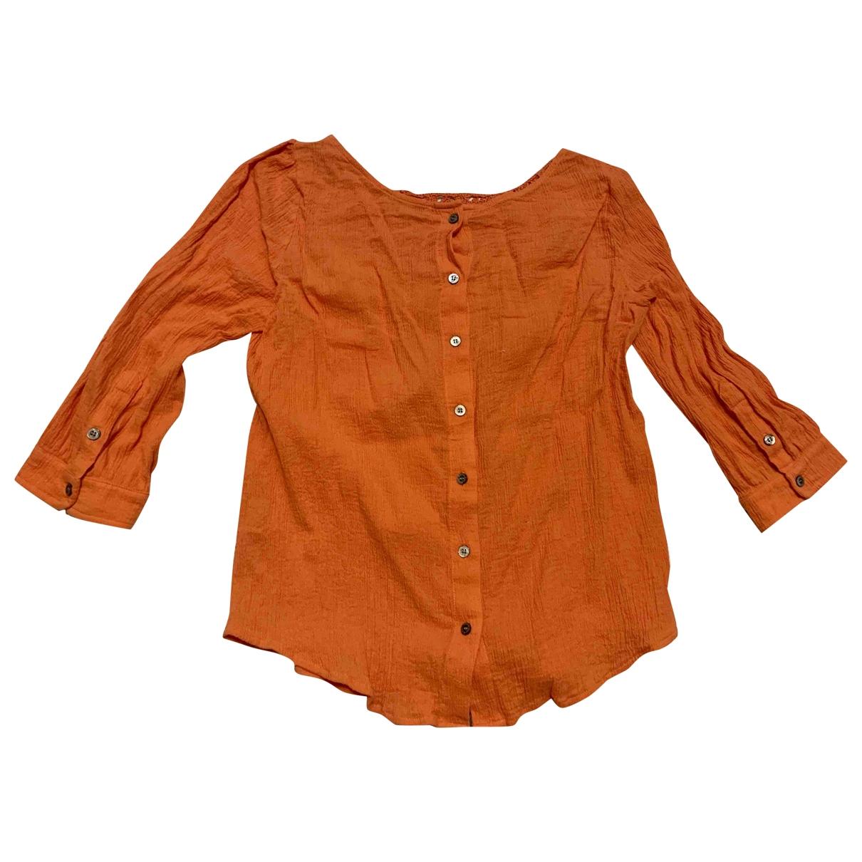 Paul & Joe - Top   pour femme en coton - orange