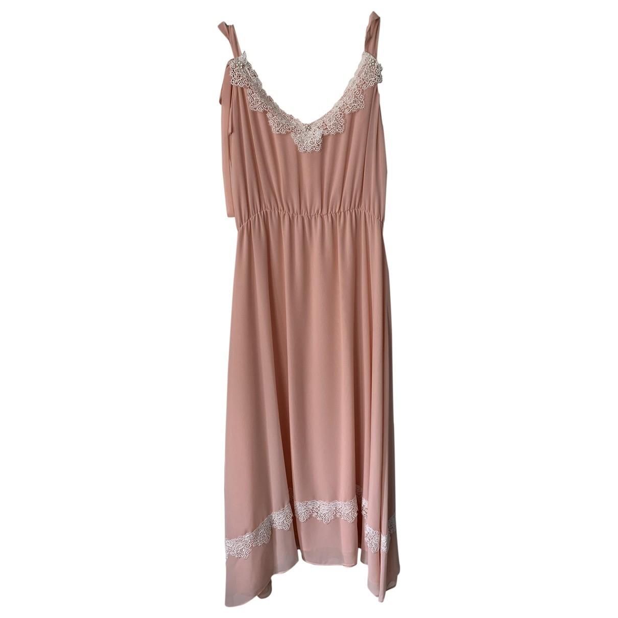 Blumarine \N Kleid in  Rosa Polyester