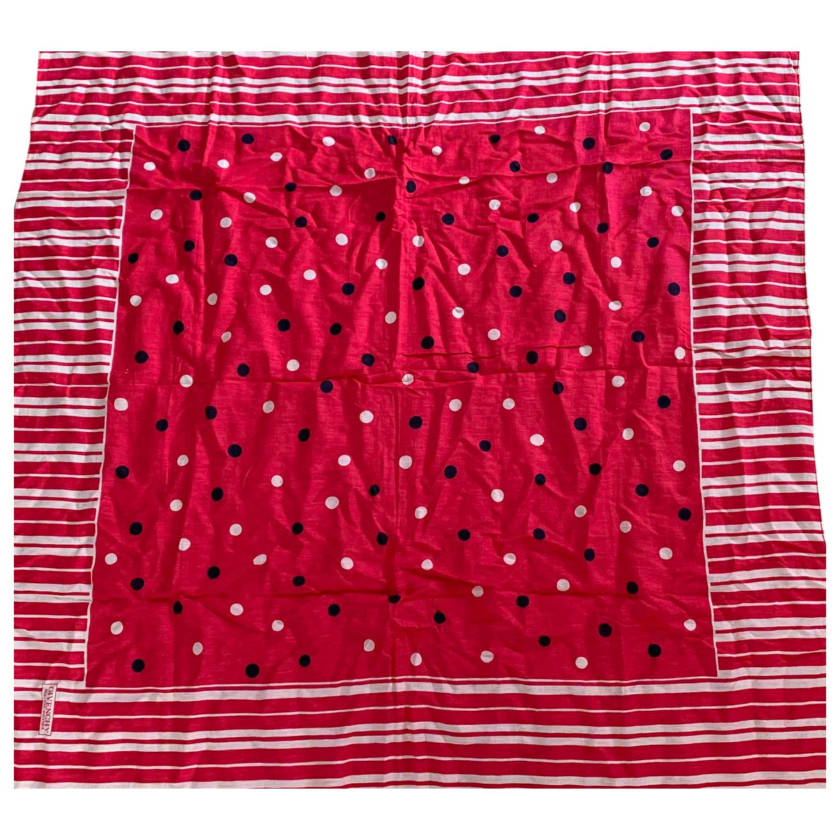 Givenchy \N Pink Cotton Silk handkerchief for Women \N