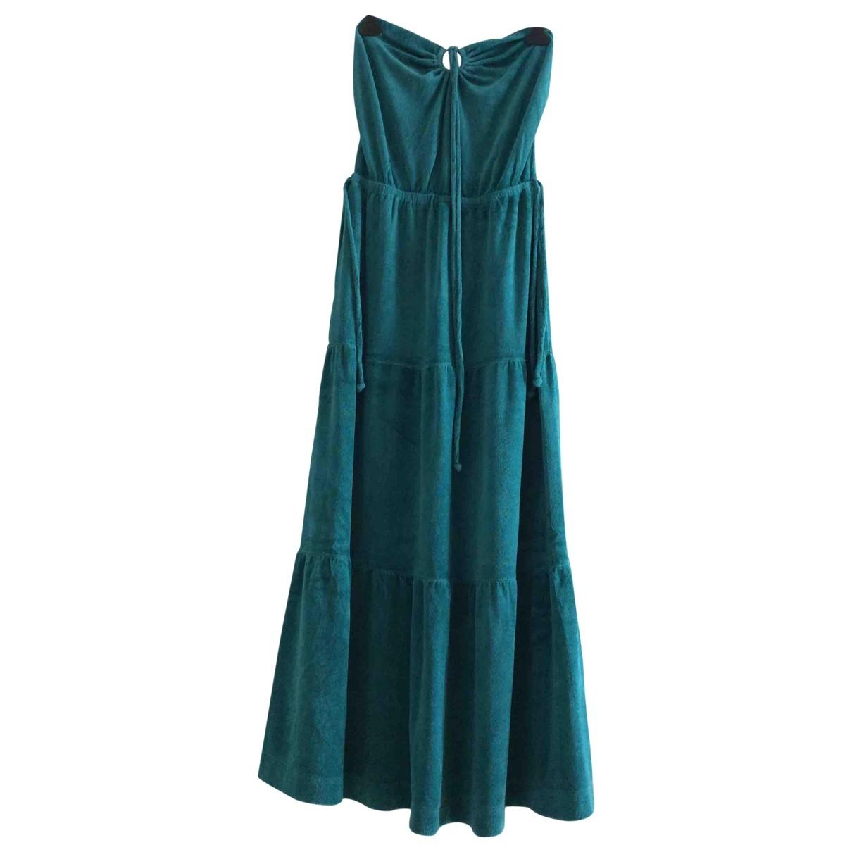 Juicy Couture - Robe   pour femme en coton - vert