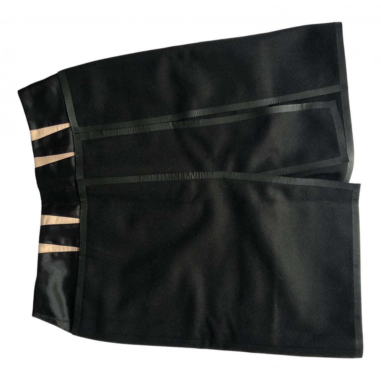 Balenciaga N Black Wool skirt for Women 40 FR