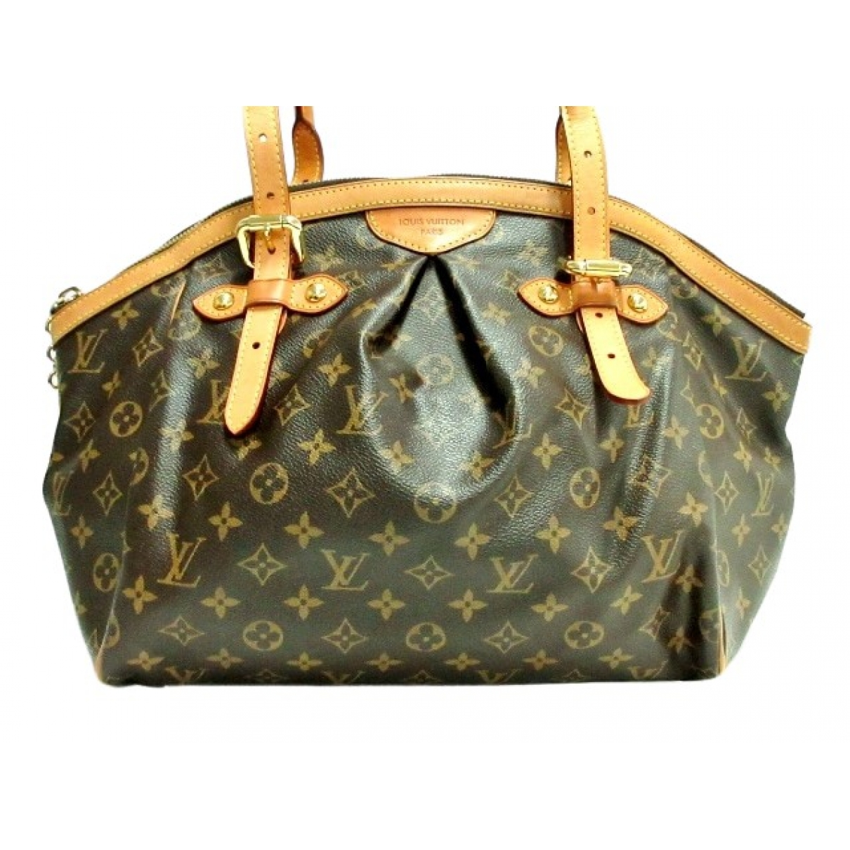 Louis Vuitton Tivoli Brown Cloth handbag for Women \N
