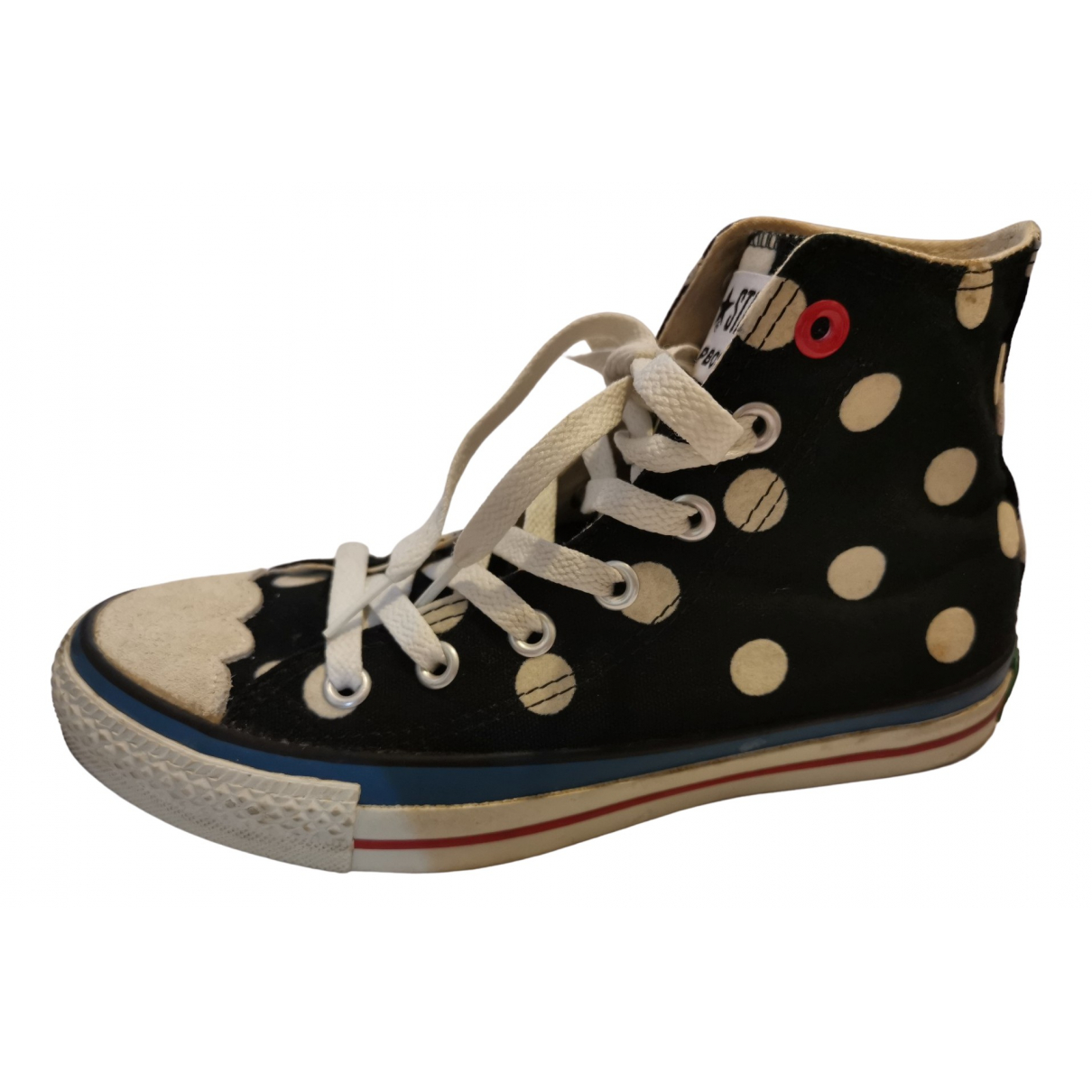 Converse \N Sneakers in  Schwarz Leinen
