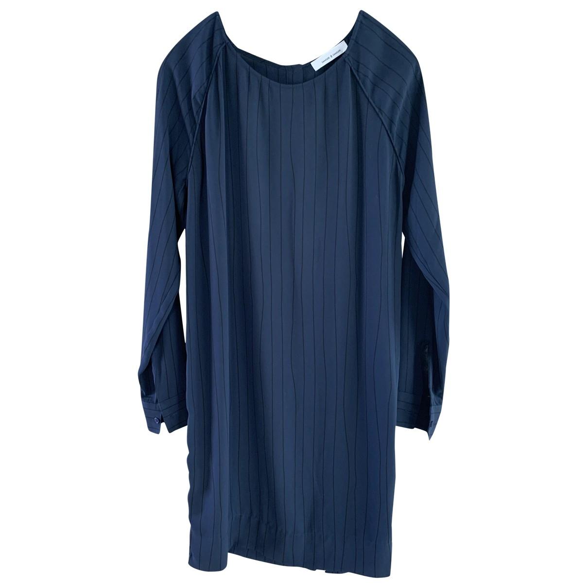 Samsoe & Samsoe \N Blue dress for Women XS International
