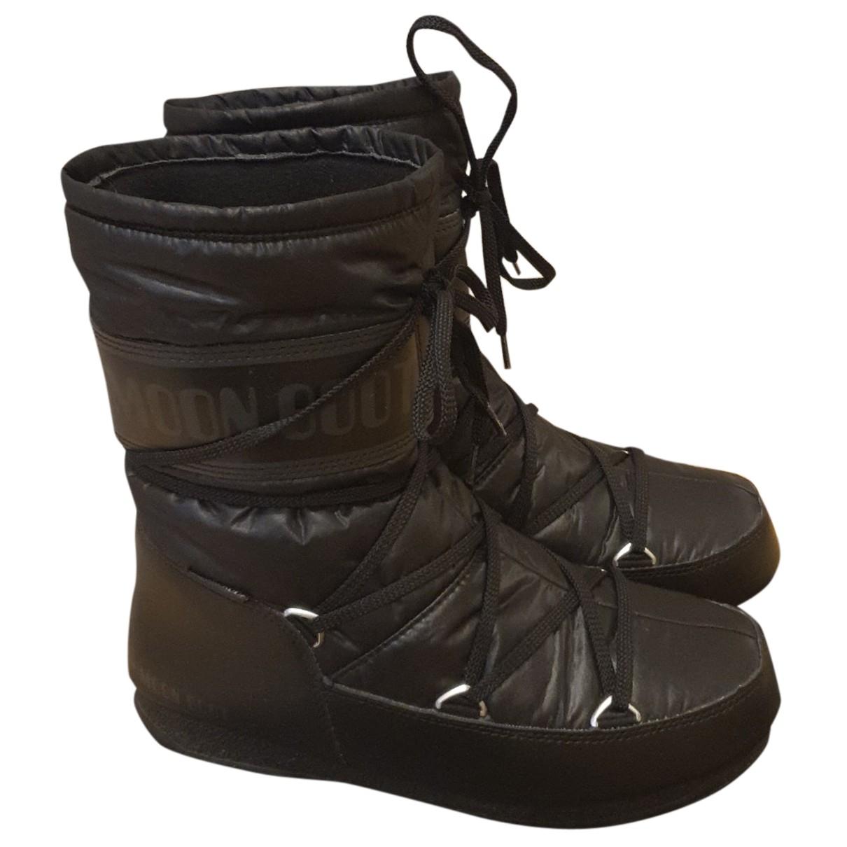 Moon Boot - Bottes   pour femme - noir