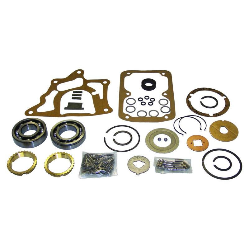 Crown Automotive T90MASKIT Jeep Replacement T90 Transmission Master Overhaul Kit for Select 45-71 Jeep / Willys Vehicles Jeep