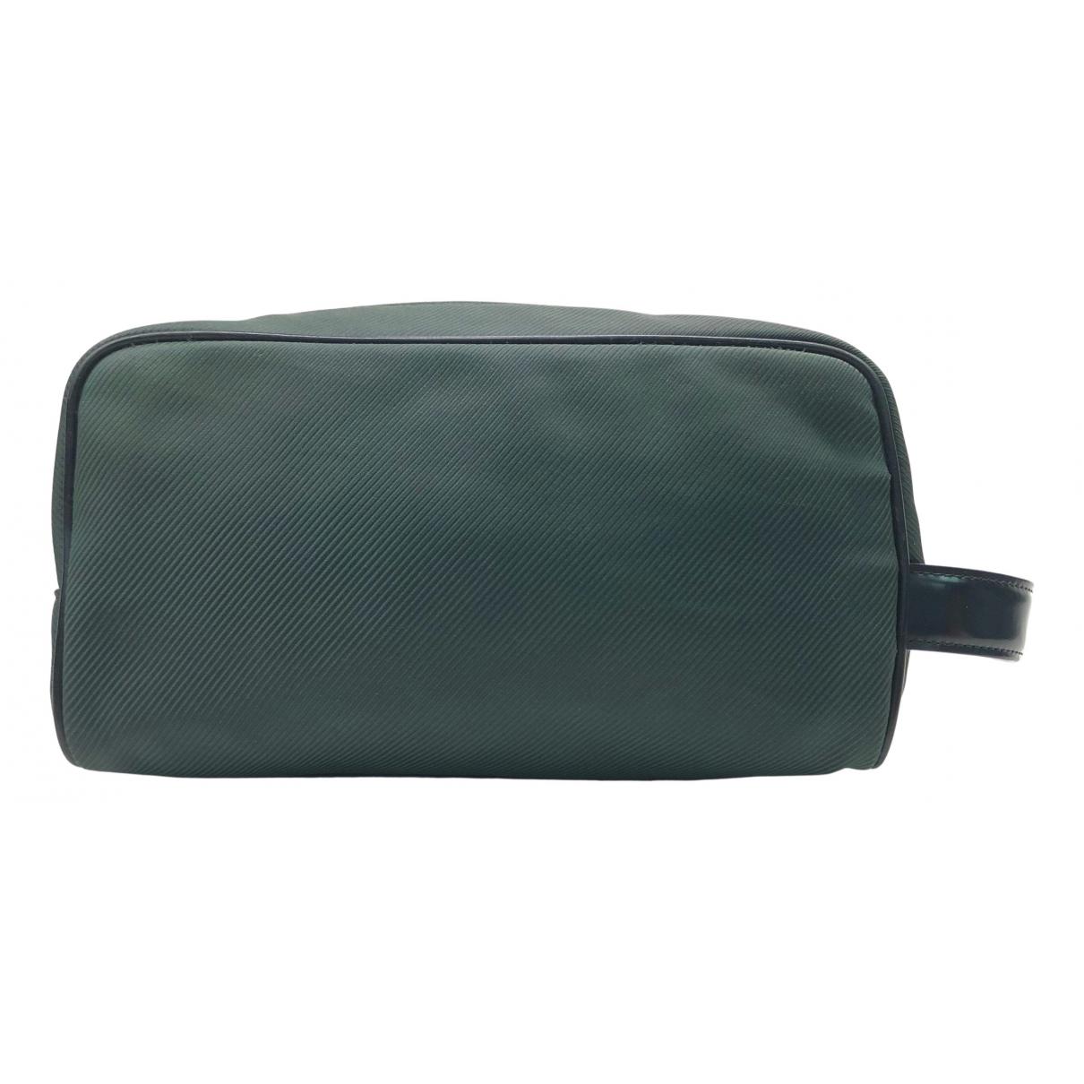 Louis Vuitton N Green Cloth bag for Men N