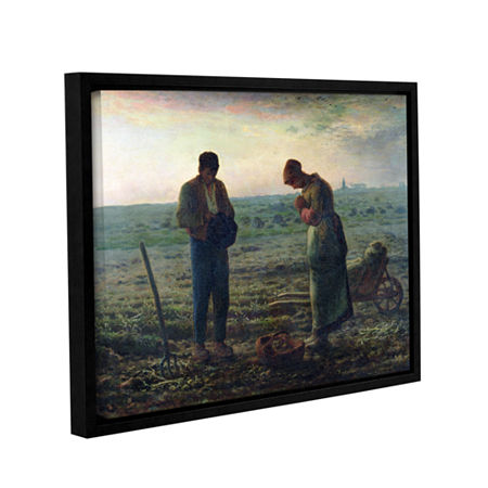 Brushstone The Angelus Gallery Wrapped Floater-Framed Canvas Wall Art, One Size , Blue