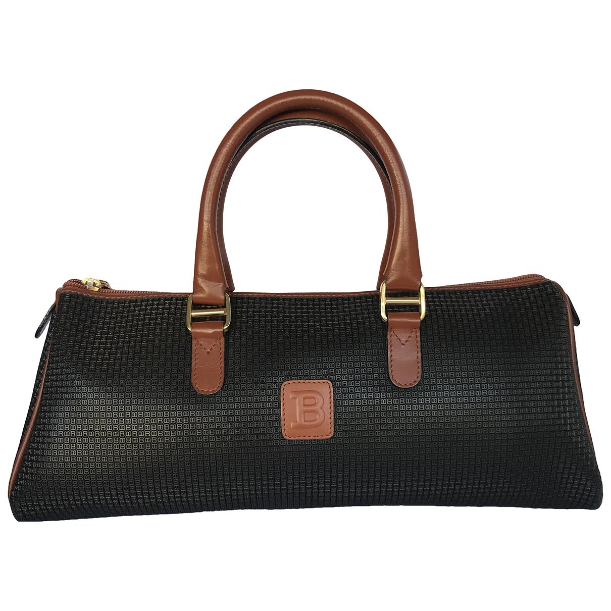 Bally \N Handtasche in  Grau Leder