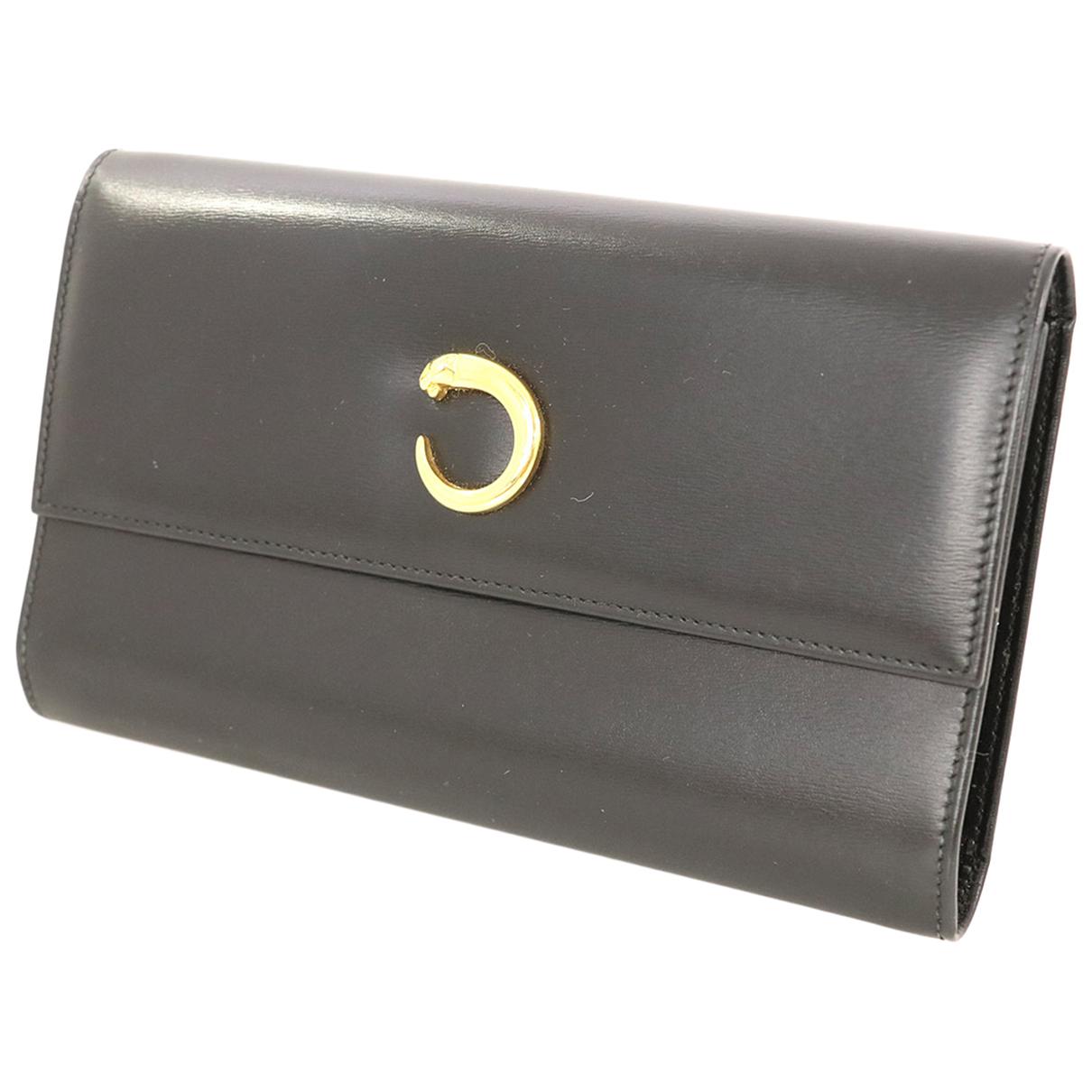 Cartier \N Portemonnaie in Leder