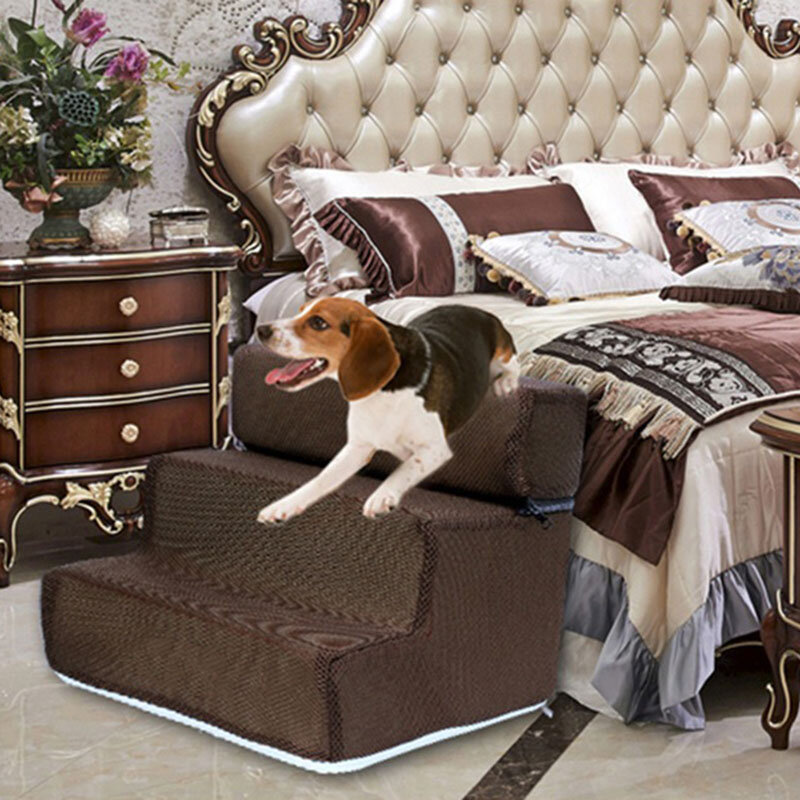 Dog Stairs Pet Ladder Sponge Stairs Dog Teddy On Sofa On Bed Ladder